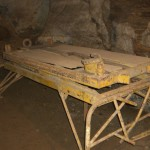 g. A hospital bed in the cave