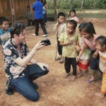 Hamish Michael delighting Children with Magic Photos