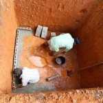 The septic system hole