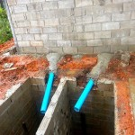 The toilet Septic Hole