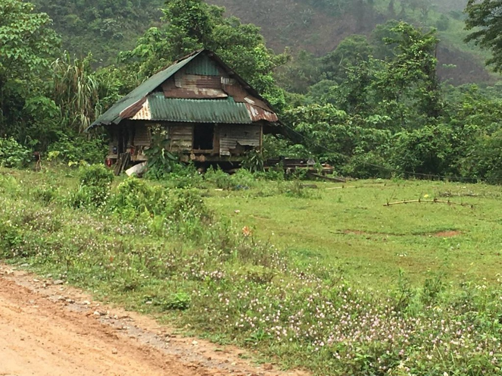 Reported that 5 invalid victims of Agent Orange live in this house without a water connection or toilet